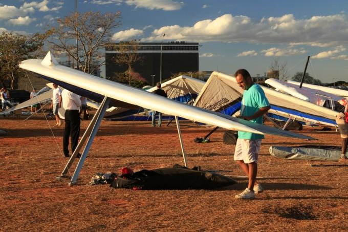 Rio Asa Delta bebe brasiliaencontro de pilotos