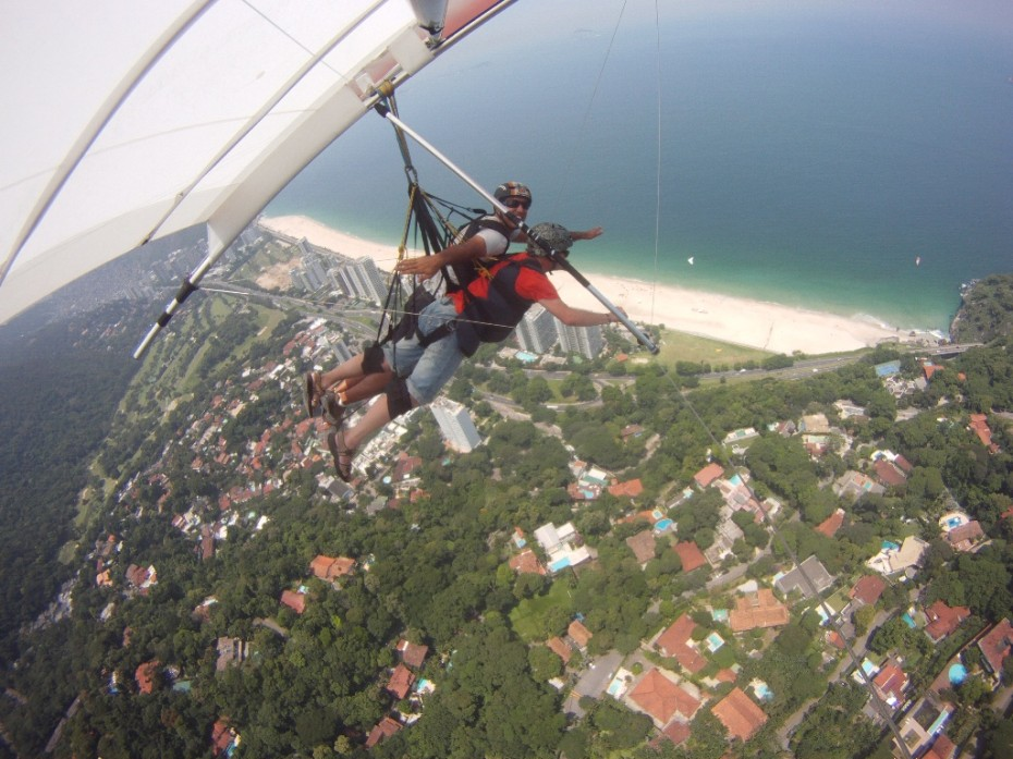 Rio Asa Delta Hang gliding lesson