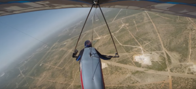 Hang glider pilot Jonny Durand Attempts Distance World Record in Texas | Chasing Thermals